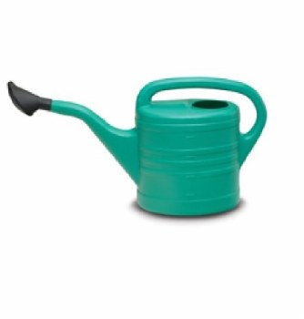 LORDOS 10 LTR PLASTIC WATERING CAN WITH ROSE