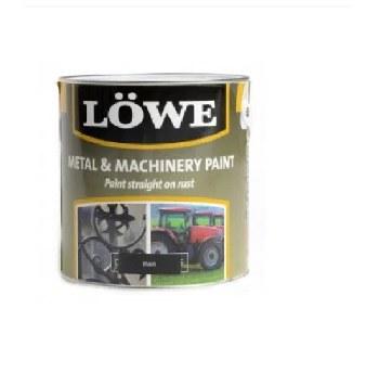 LOWE METAL & MACHINERY PAINT 1LT BLACK