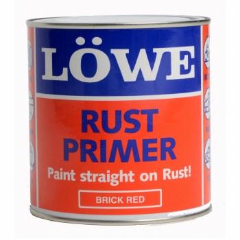 LOWE RUST PRIMER 3KG BRICK RED