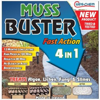 MOSS BUSTER FAST ACTION 4 IN 1 750ML RTU