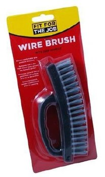 FIT FOR THE JOB OVERGRIP WIRE BRUSH