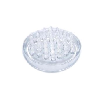 PREMIER 4 PCE SMALL SPIKED CLEAR CASTOR CUP