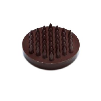 PREMIER 4 PCE LARGE SPIKED BROWN CASTOR CUP