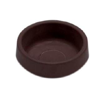 PREMIER 4 PCE SMALL RUBBER CASTOR CUP