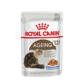 ROYAL CANIN AGEING +12Y JELLY CAT 85G POUCH