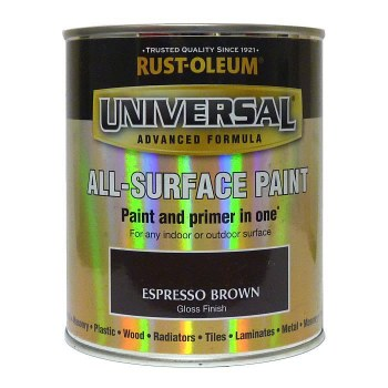 Rust-Oleum Gloss Finish Universal Metal and All-Surface Paint – EXPRESSO BROWN 250ML