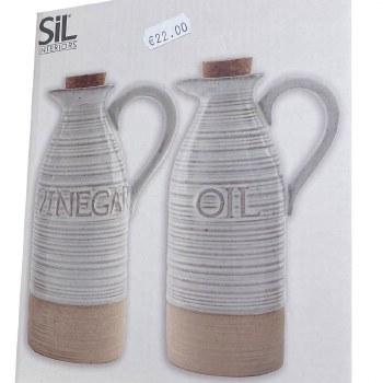 SIL INTERIOR VINEGAR AND OIL 19CM
