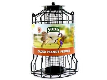 SUPA WILD BIRD CAGED PEANUT FEEDERS