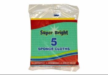 SUPERBRIGHT SPONGE CLOTH PACK OF 6