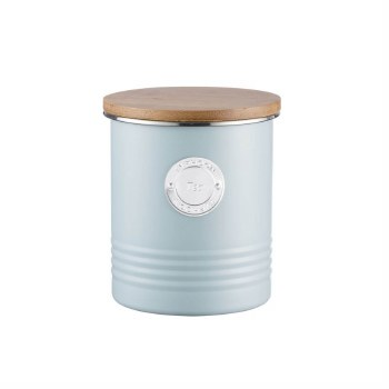 TYPHOON LIVING TEA CANISTER BLUE 1L
