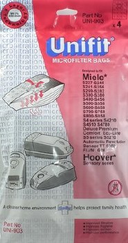 UNIFIT SOS VACUUM BAGS FOR MIELE & HOOVER - UNI903