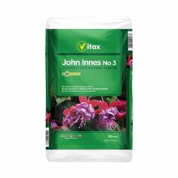 VITAX JOHN INNES NO3 20L COMPOST FOR MATURE PLANTS