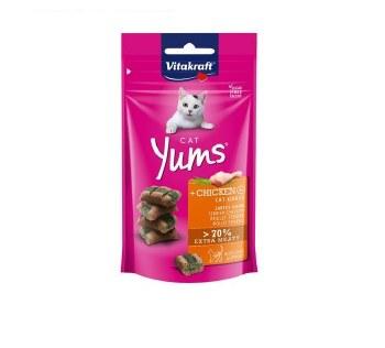 VITAKRAFT CAT YUM CHICKEN & CAT GRASS