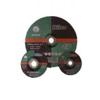 "WILCO NO.18 4"" FLAT STONE CUTTING DISC"