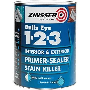 ZINSSER BULLSEYE 1.2.3. PRIMER SEALER 1LTR