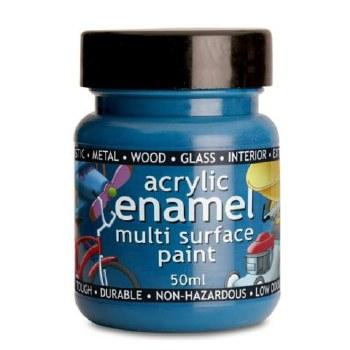 POLYVINE ACRYLIC ENAMEL BLUE 100ML