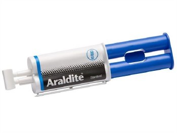 ARALDITE STANDARD SYRINGE ALL PURPOSE EPOXY GLUE BLUE 24ML