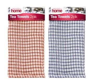 AROUND HOUSE TEA TOWELS 2pk