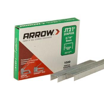 ARROW JT21 5/16-8M STAPLES