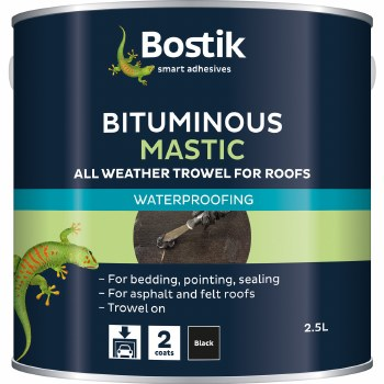 BOSTIK BITUMINOUS MASTIC 2.5 LTR