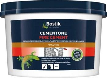 BOSTIK CEMENTONE FIRE CEMENT 1 KG