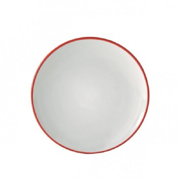 COSMOS RED SIDE PLATE 20CM