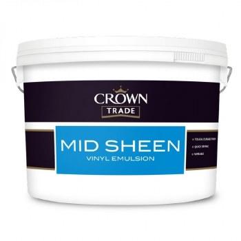 CROWN MID SHEEN WHITE 10L