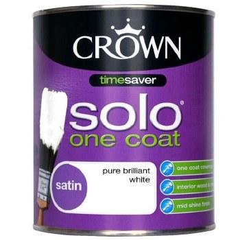 CROWN RETAIL SOLO SATIN BRILLIANT WHITE 2.5L
