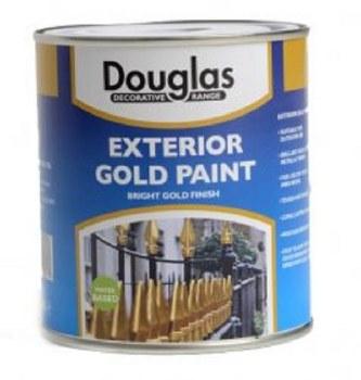 DOUGLAS EXTERIOR GOLD PAINT 250ML