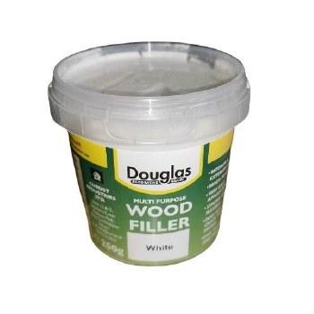 DOUGLAS WOOD FILLER 250GRM WHITE