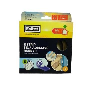 EXITEX BROWN ADHESIVE STRIP (E STRIP)