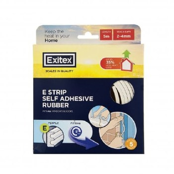 EXITEX WHITE ADHESIVE STRIP (E STRIP)