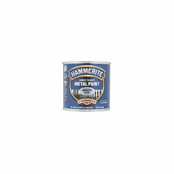 HAMMERITE DIRECT TO RUST METAL PAINT - SMOOTH SILVER 250ML
