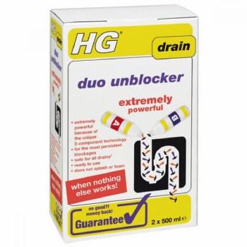 HG DUO DRAIN UNBLOCKER 500ML