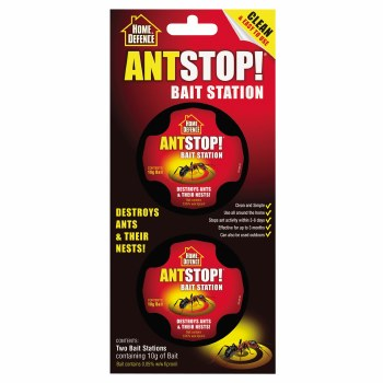HOME DEFENCE ANT STOP BAIT STATION (1 PAIR)