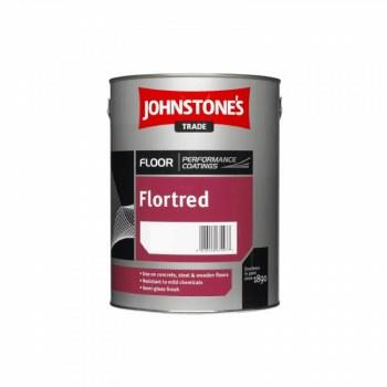 JOHNSTONES FLORTRED TILE RED 5L