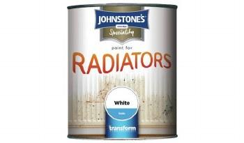 JOHNSTONE RADIATOR SATIN BRIL WHITE 0.25LTR