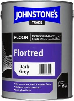 JOHNSTONES FLORTRED DARK GREY 5 LITRE