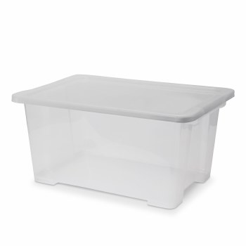 KINGFISHER STORAGE BOX WITH LID 46LTR