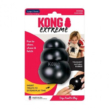 KONG EXTREME TOY BLACK LARGE