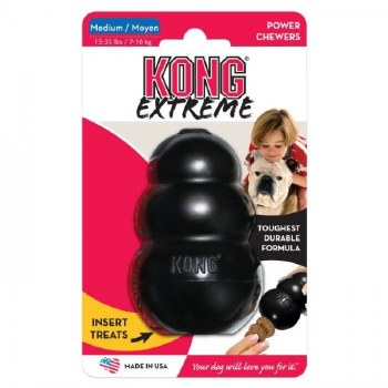 KONG EXTREME TOY BLACK - MEDIUM