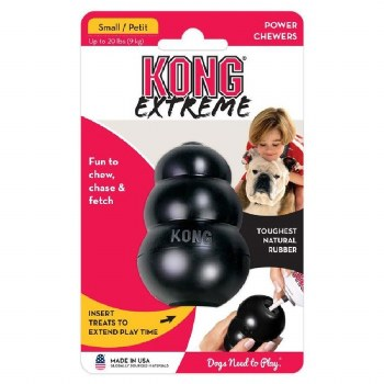 KONG TOY EXTREME BLACK-SMALL