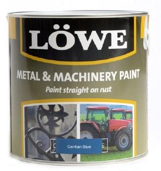 LOWE METAL & MACHINERY PAINT 1LT BLUE