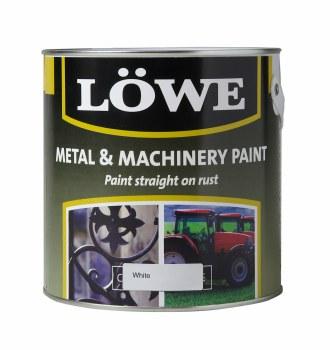 LOWE METAL & MACHINERY PAINT 2.5L WHITE