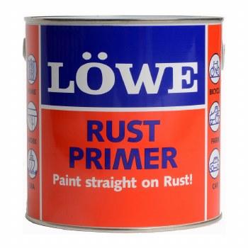 LOWE RUST PRIMER BRICK RED 375G