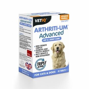 M&C VETIQ ARTHRITI-UM ADVANCE 45 TABLETS