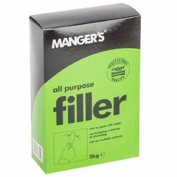 MANGERS ALL PURPOSE FILLER POWDER 2KG