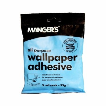 MANGERS ALL PURPOSE WALLPAPER ADHESIVE 5ROLL PACK