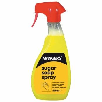 MANGERS INSTANT SUGAR SOAP TRIGGER SPRAY 500M