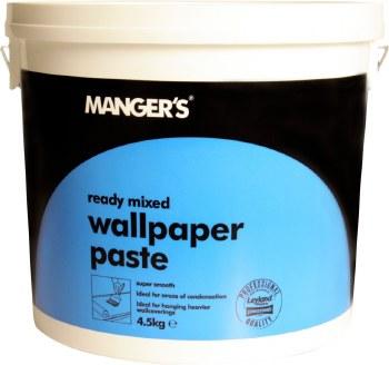 MANGERS READY MIXED WALLPAPER PASTE 10KG
